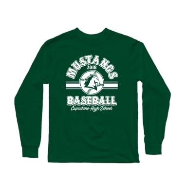 Mustangs 2018 Baseball Longsleeve Shirt