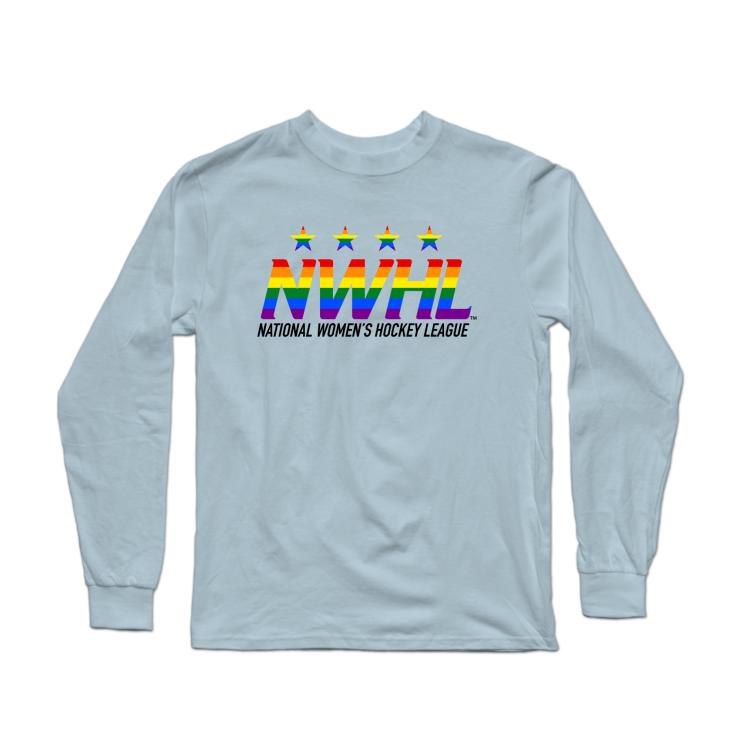 NWHL Pride Logo Longsleeve Shirt
