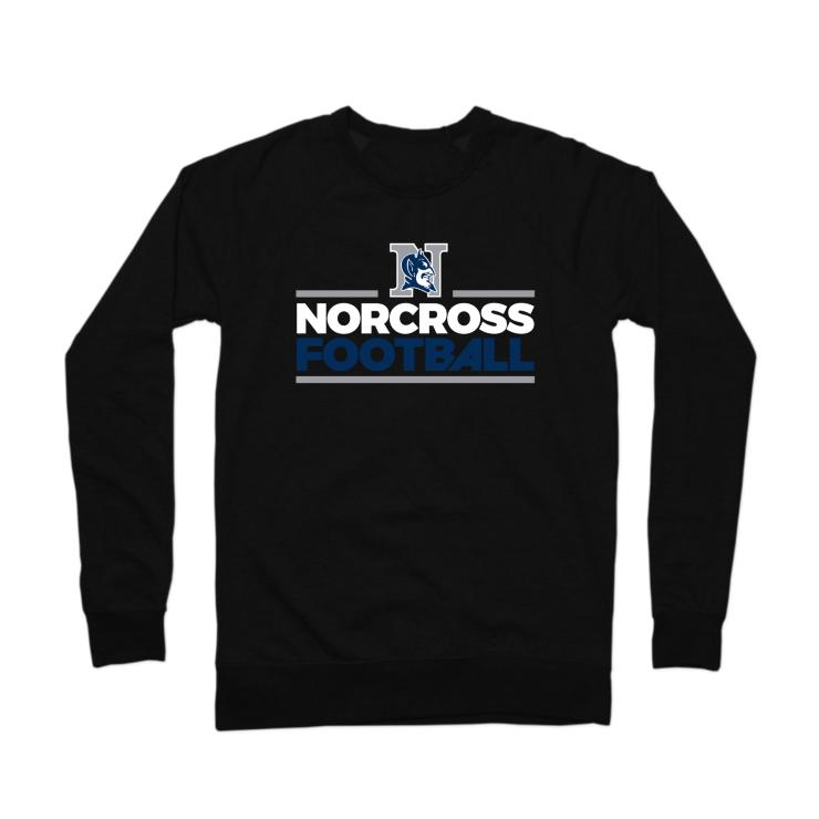 Norcross Football Crewneck Sweatshirt