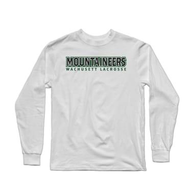 Wachusett Lacrosse Mountaineers Text Longsleeve Shirt
