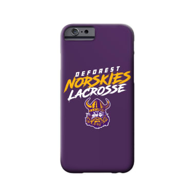 DeForest Norskies Lacrosse Phone Case