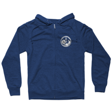 Fit Dad Nation Zip Hoodie