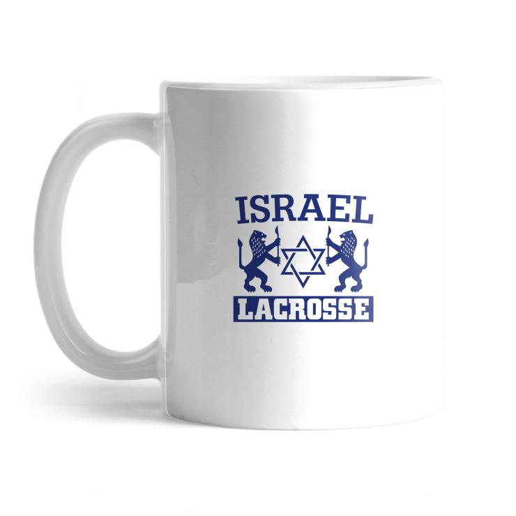 Israel Lacrosse Mug