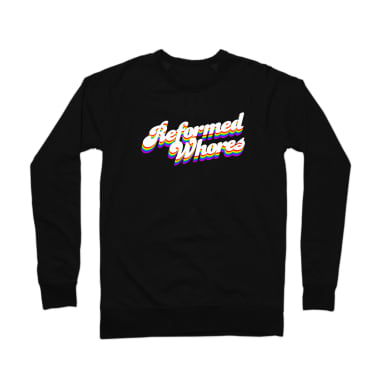 Reformed Whores Rainbow Crewneck Sweatshirt