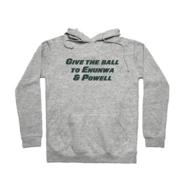 Give the Ball to Enunwa & Powell Pullover Hoodie