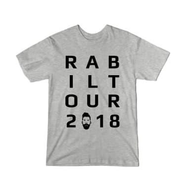 Rabil Tour 2018 Letters T-Shirt
