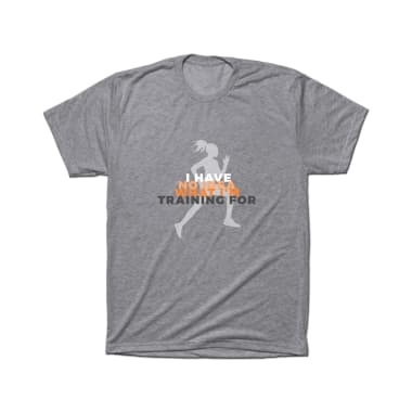 No Idea What I'm Training For T-Shirt