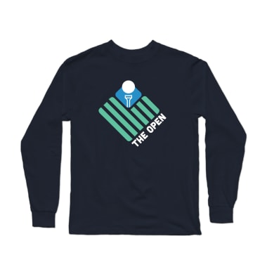 The Open (Teal Flag) Longsleeve Shirt