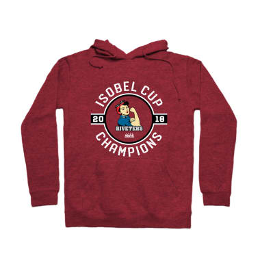 Isobel Cup Champions Badge Pullover Hoodie