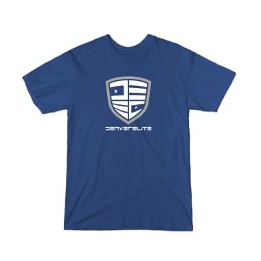 Denver Elite Blue Line T-Shirt