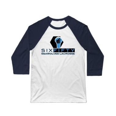 SeaWolves Prime Logo Baseball Tee