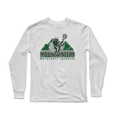 Wachusett Lacrosse Mountaineers Logo Longsleeve Shirt