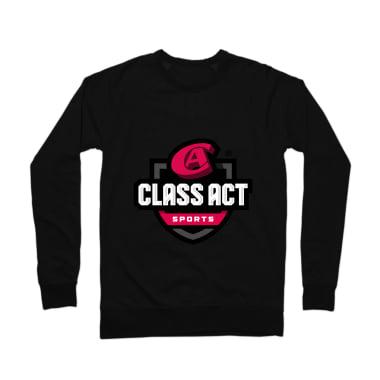 Class Act New School Crewneck Sweatshirt