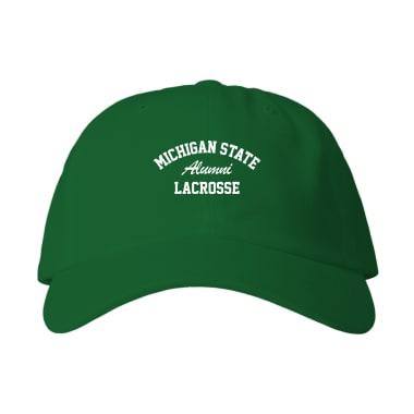 MSU Lacrosse Alumni Baseball Style Hats