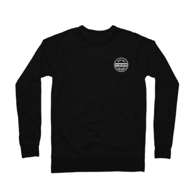 Fit Dad Nation Badge Crewneck Sweatshirt