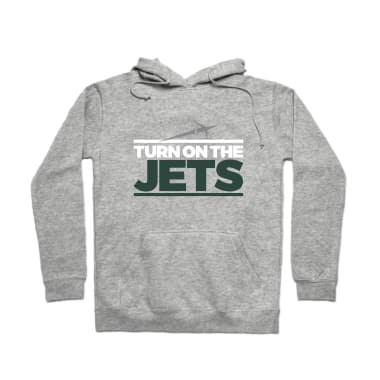 Turn on the Jets Classic Pullover Hoodie