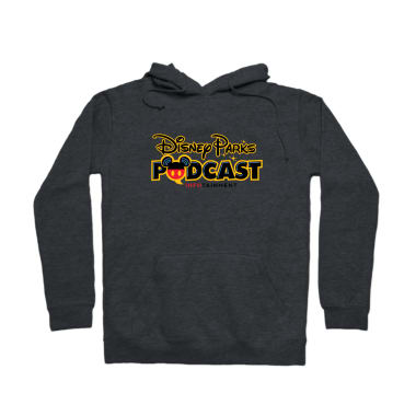 Disney Parks Podcast Logo wear Pullover Hoodie