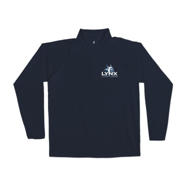 Lynx Lacrosse Side Profile Performance Pullover