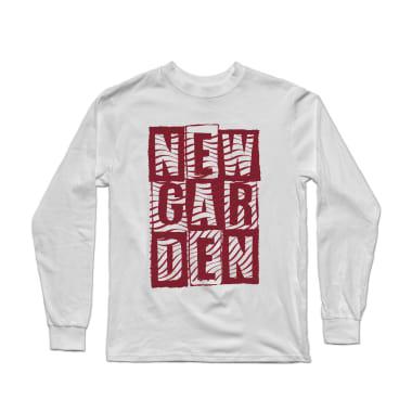 Newgarden Red Waves Longsleeve Shirt