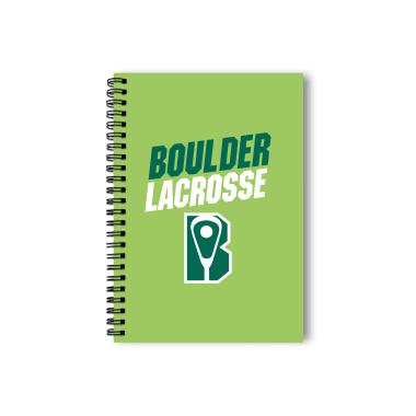 Boulder Lacrosse Notebook