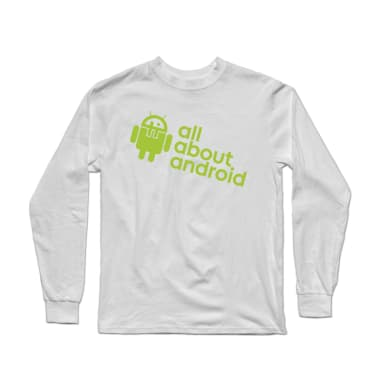 All About Android podcast shirt Longsleeve Shirt