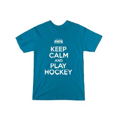 Keep Calm & Play Hockey T-Shirt