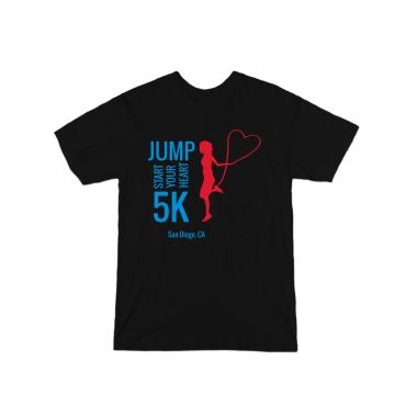 Jump Start Your Heart 5k Tee