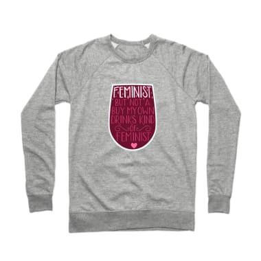 Feminist Crewneck Sweatshirt