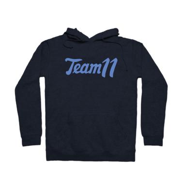 Team 11 Retro Pullover Hoodie