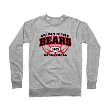 GMS Basketball Crewneck Sweatshirt