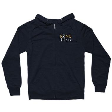 KING Spikes Zip Hoodie