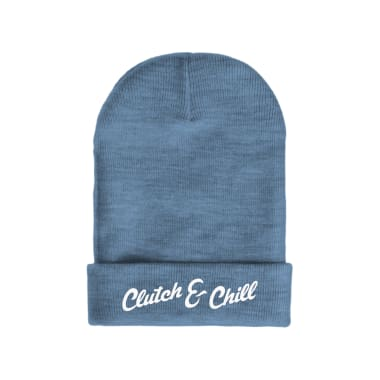 NEW! Clutch & Chill Winter/Beanie Hats (with or w/out pom)