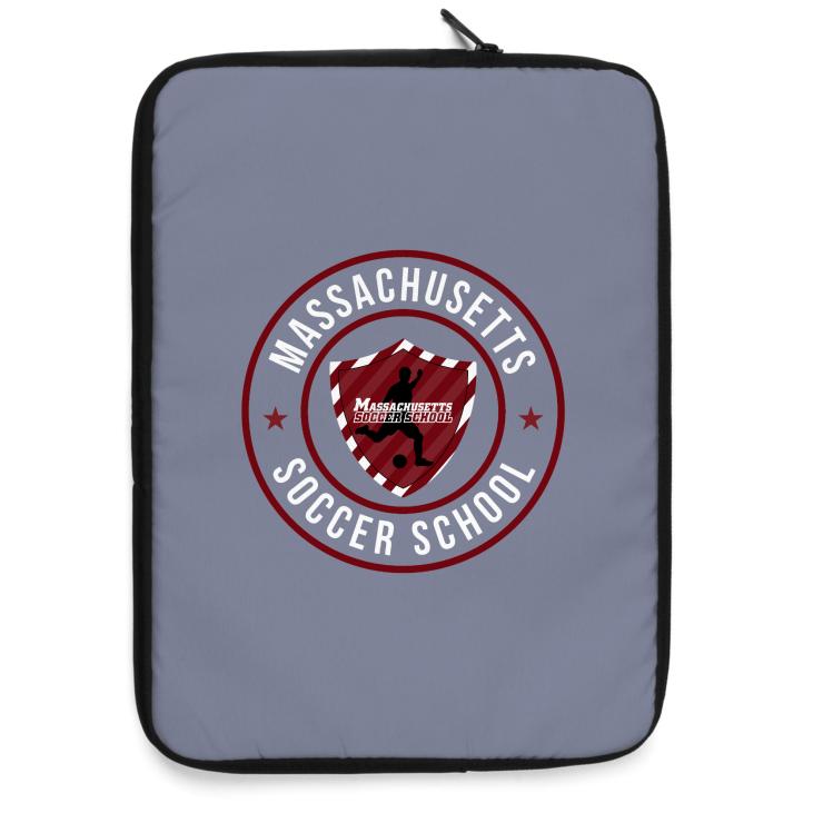 Massachusetts Soccer School Laptop Sleeve