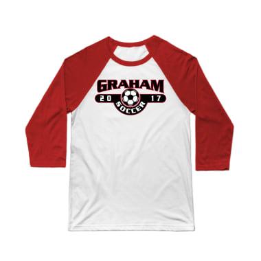 Graham 2017 Soccer Baseball Tee
