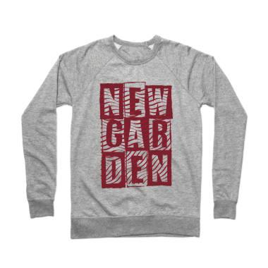 Newgarden Red Waves Crewneck Sweatshirt