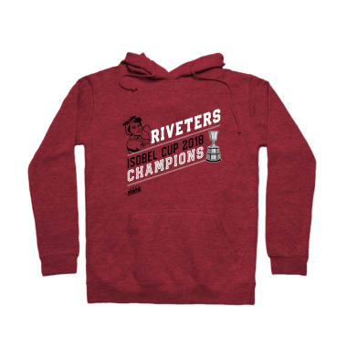 Riveters Isobel Cup Champs Pullover Hoodie
