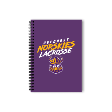 DeForest Norskies Lacrosse Notebook