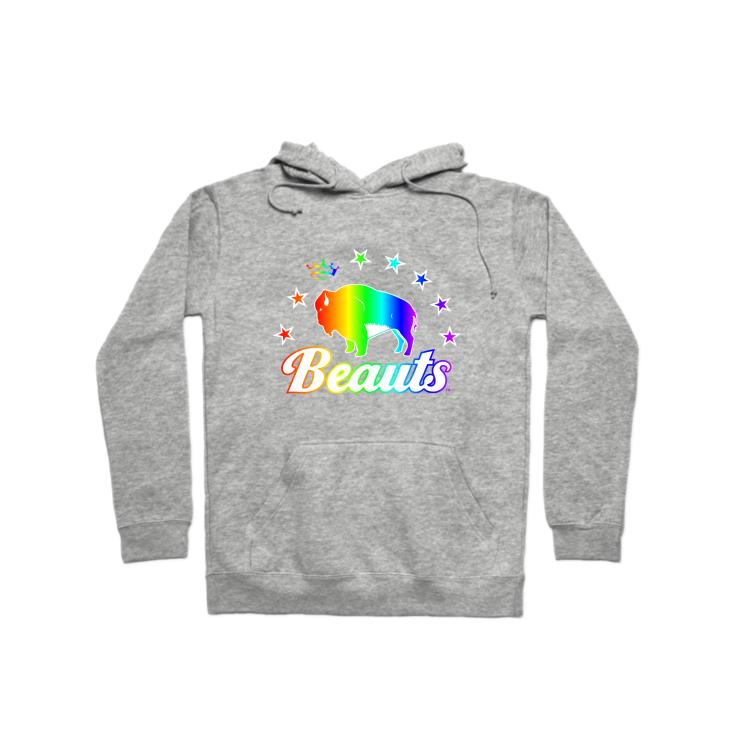 Buffalo Beauts Pride Pullover Hoodie