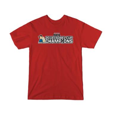 Riveters 2018 Isobel Cup Championship T-Shirt