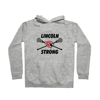 Lincoln Lacrosse Strong Pullover Hoodie