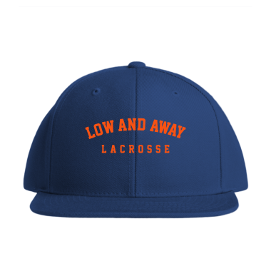 Low and Away Lacrosse Baseball Style Hats