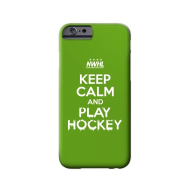 Keep Calm & Play Hockey Phone Case