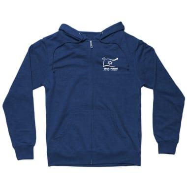 Israel Lacrosse Zip Hoodie