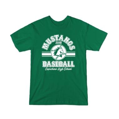 Mustangs 2018 Baseball T-Shirt