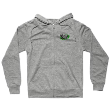 The New Screen Savers - light colored shirt Zip Hoodie