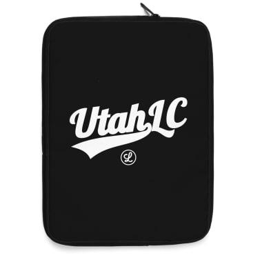 Utah Logo White Laptop Sleeve