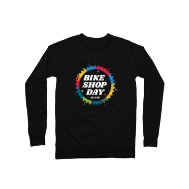 Bike Shop Day Crewneck Sweatshirt