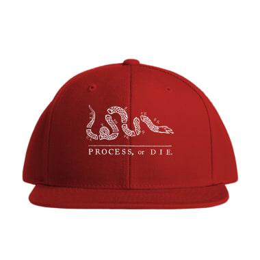 Process or Die Baseball Style Hats