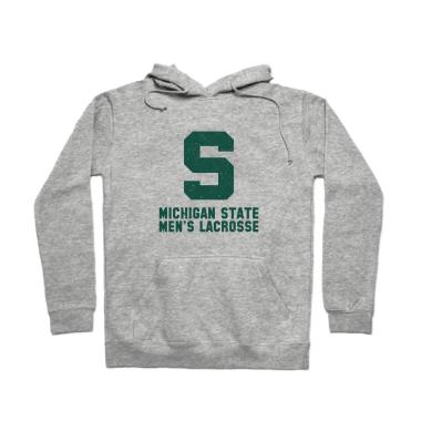 MSU Lacrosse Vintage Pullover Hoodie
