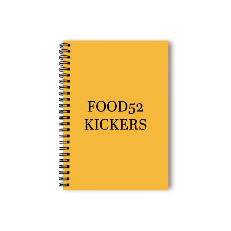 Food52 Shirt Notebook